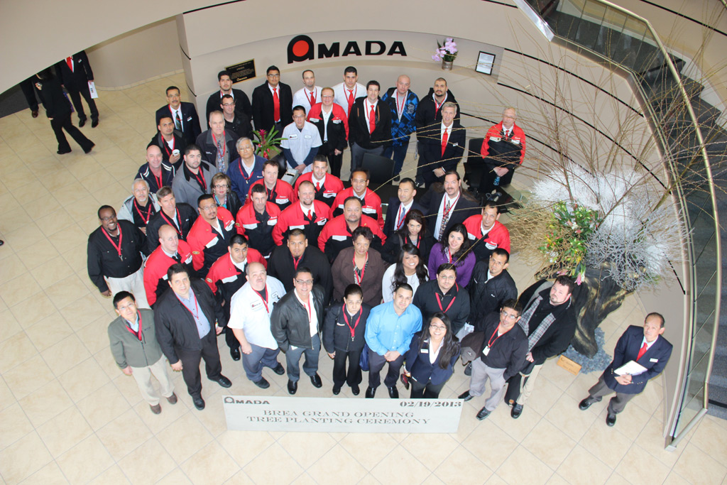 2013 - New Manufacturing Facility in Brea (USA) - AMADA GmbH